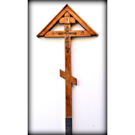 Крест средний с крышей
