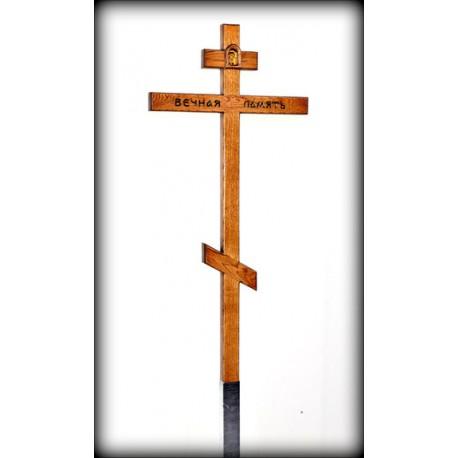 """Деревянный крест """"Вечная память"""""""