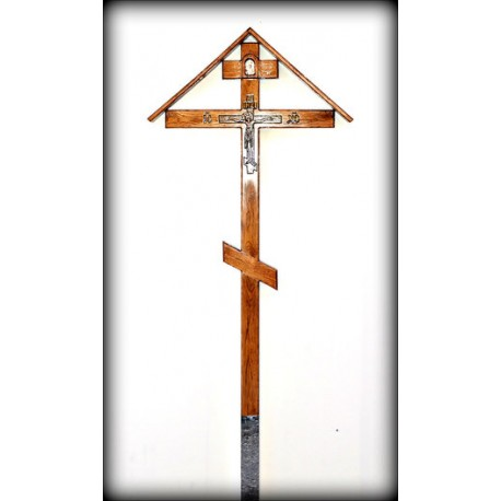 Крест малый с крышей