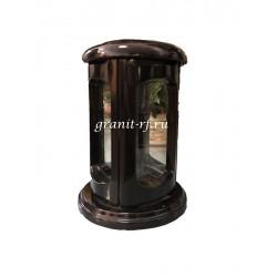 Лампада неугасимая 25 см стекло