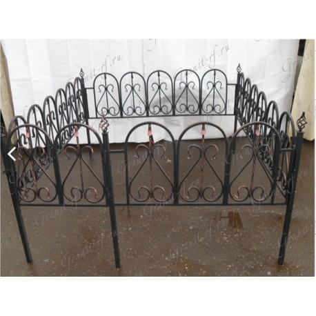 Кованая ограда Арка2