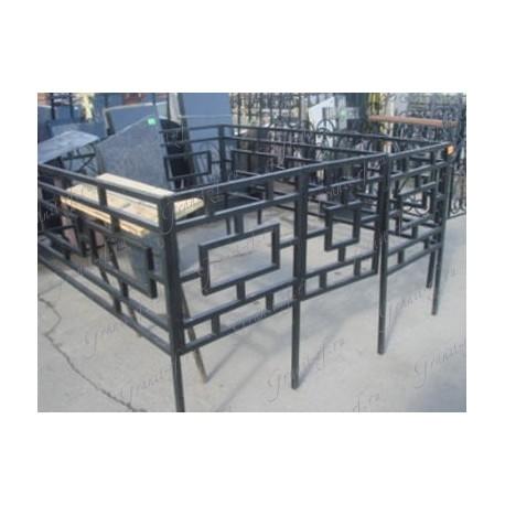 Ограда Высокий прямоугольник