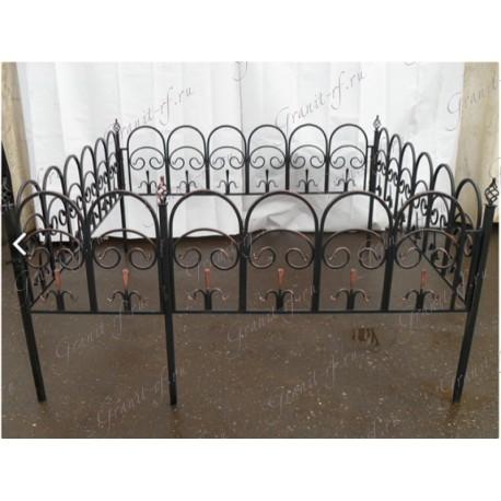 Кованая ограда Арка