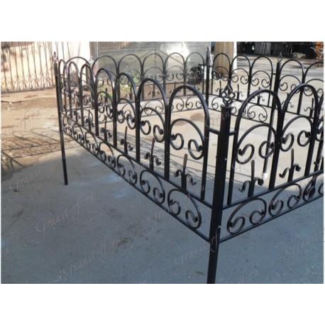 Кованая ограда Арка Комби
