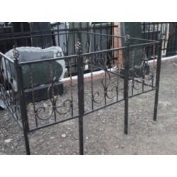 Кованая ограда Витая