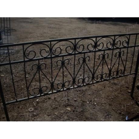 "Ограда кованая ""Комби"""