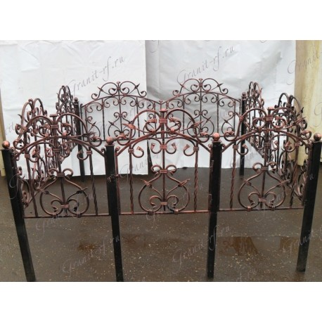 Кованая ограда Единорог